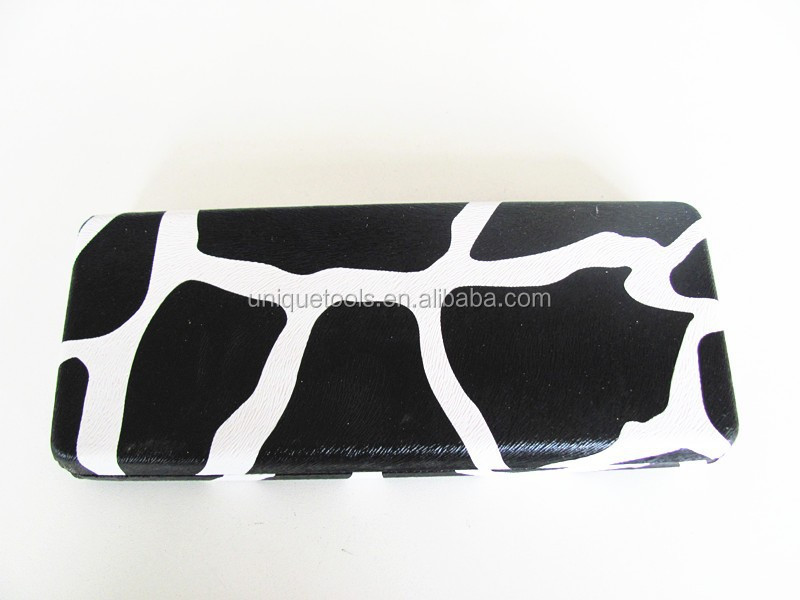 Cows pattern Galvanized iron hair scissor case
