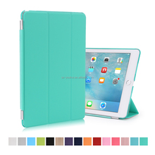 New Arrival Soft PU Leather Flip Cover Smart Magnetic Case for iPad Pro 9.7""
