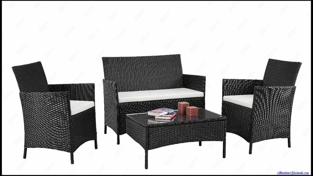 low price promotional 4pcs KD sofa set YKD-01