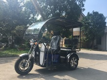 Double seat 110cc 125cc passenger tricycle motorcycle 3 wheeler