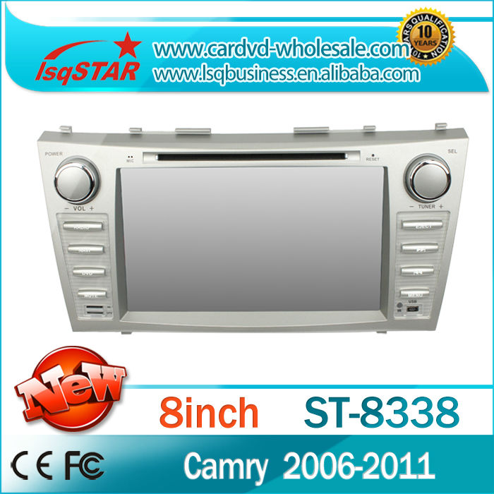 Touch screen car dvd player for toyota camry 2006-2011with gps,bluetooth,DVD,Radio,BT phonebook,Ipod list,USB ,SWC,ATV,MP4/MP5