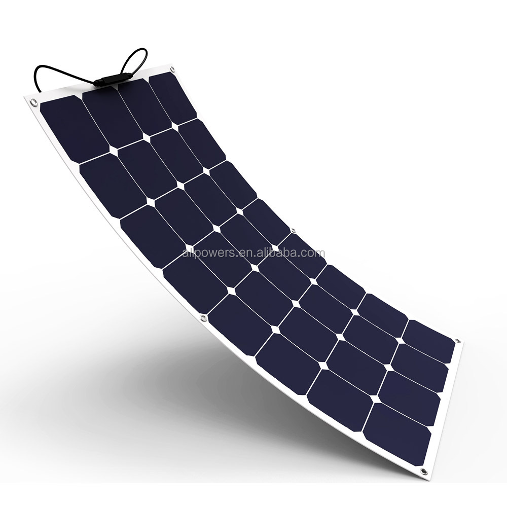 SunPower High Efficiency 100W flexible <strong>solar</strong> panel
