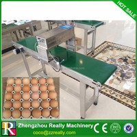 specialized food-grade ink egg coding equipment / egg printing machine for sale