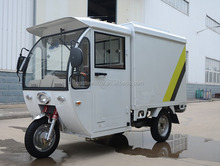 closed cabin electric cargo bike tricycle China Motorcycle /Tricycle for business delivery