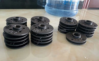 Good quality ANSI B16.5 black malleable iron threaded floor flanges