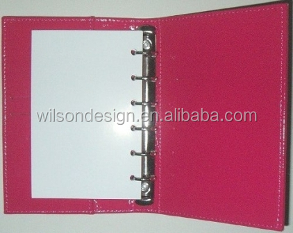 80 white pages notebook designer agenda daily planner