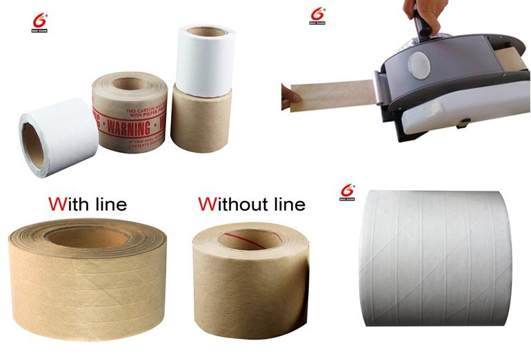 High Quality Water Activate Kraft Tape In Non Adhesive Tape For Packaging