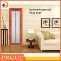 Aluminum glass doors exterior building material room door