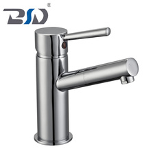 Sanitary Ware Copper Faucet Brass Bathroom Single Lever Handle Wash Basin Mixer Tap
