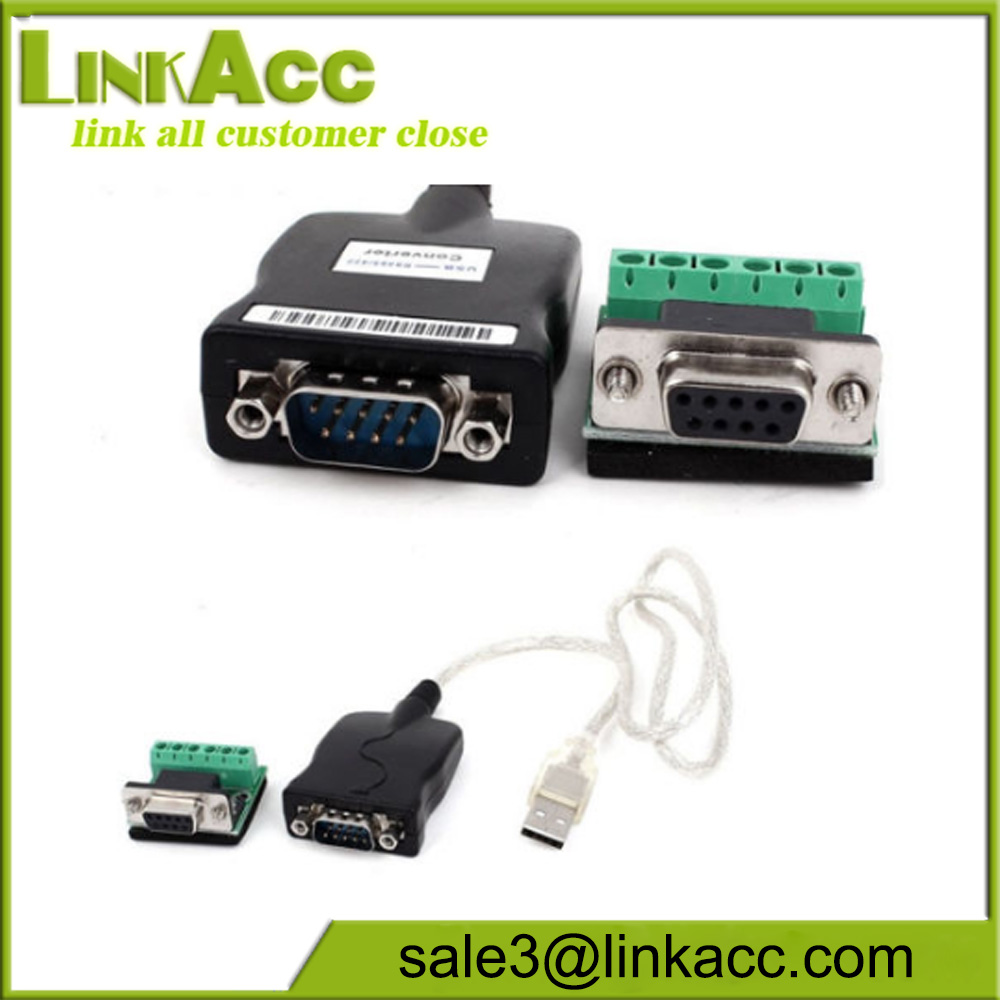 3 Feet USB 2.0 to RS485 Serial Converter Adapter