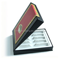 Wholesale Rigid Black Cigar Paper Packaging