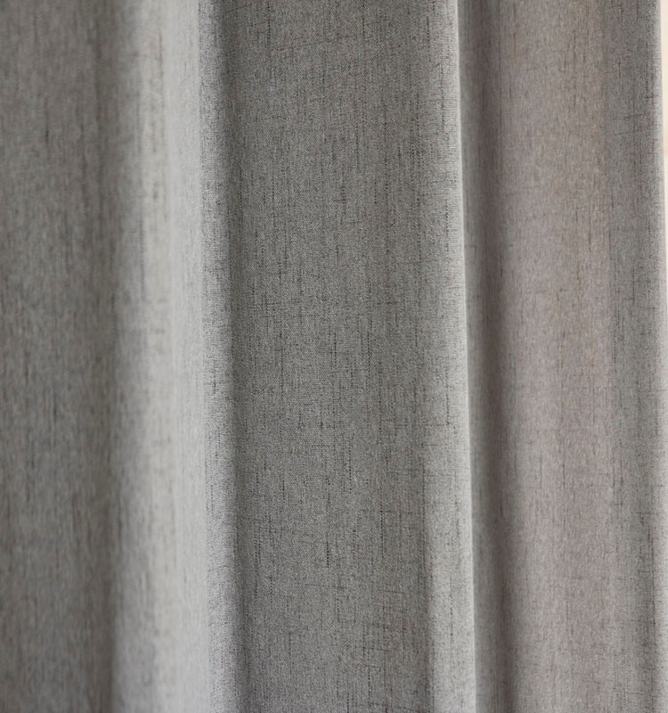 Solid color blackout window grommet curtains design curtains for the living room