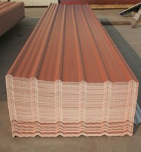 Cheap poultry house construction pvc roof sheet 1130