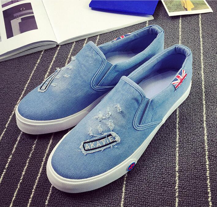 Latest design Cheap fashion canvas shoes men cowboy style casual shoes for men