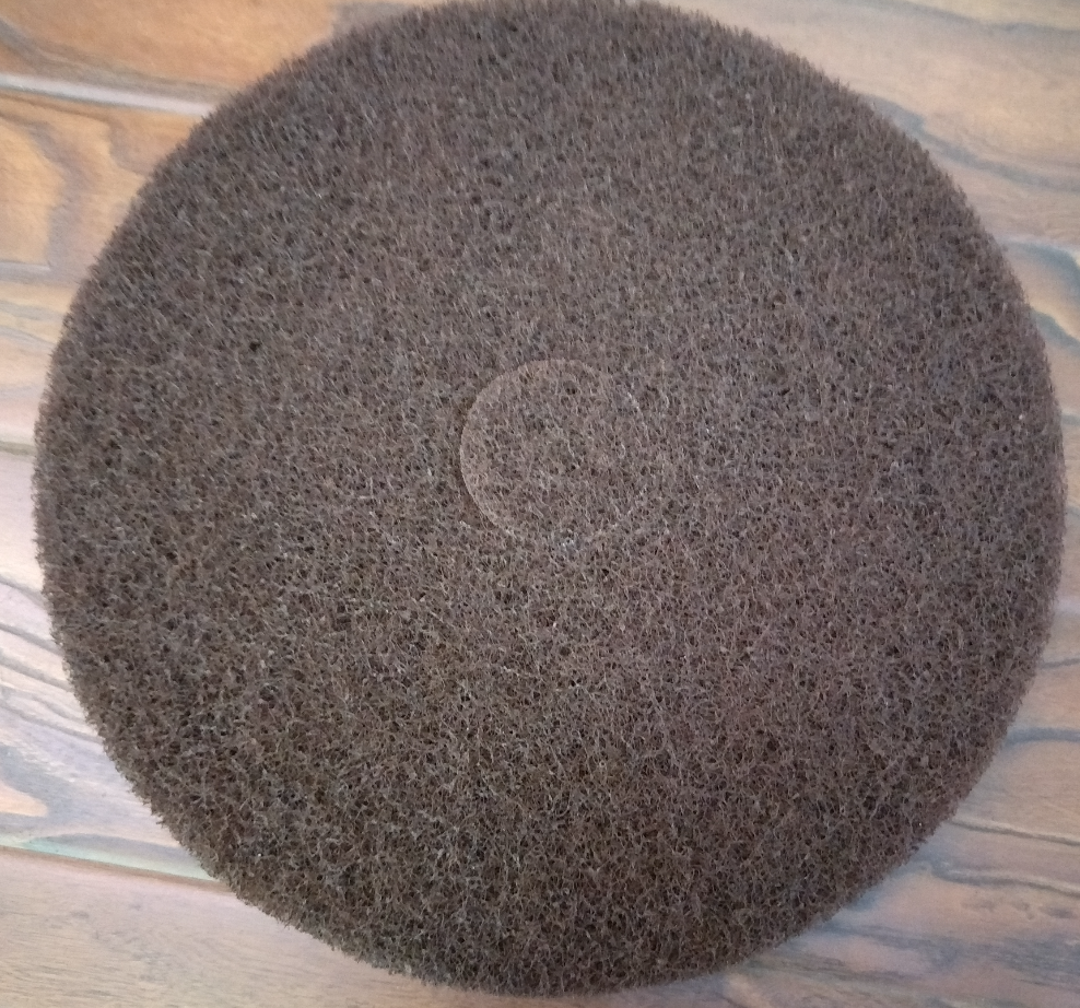 27 inch brown floor scrub pad