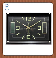 2015 china large wall clock with calendar