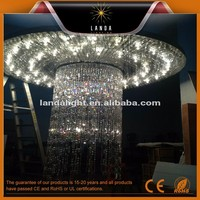 10 meters high staircase crystal chandelier