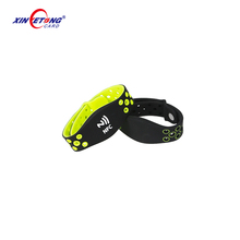 2018 Newest Adjustable Silicone Wristband With NTAG213 NFC Chip