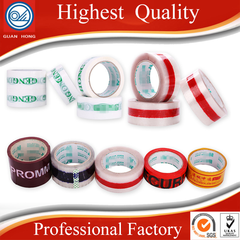 Wholesale Custom Printed Packing Tape for Packaging Transparent bopp Tape