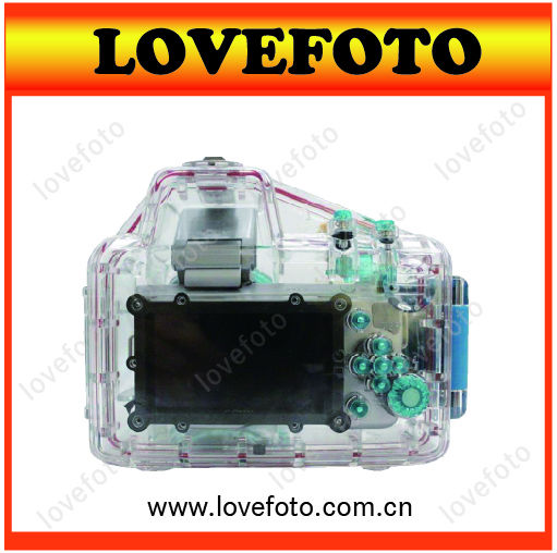 High Quality Waterproof Underwater Housing Case For Sony NEX-5N Camera 18-55mm Lens