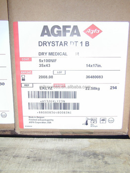 Hot sale Dry star X-ray film Agfa DT1B DT-1B Xray Medical Dry Laser X-ray Imaging Film
