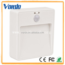 High sensitivity automatic hall hallway bathroom battery powered motion sensor led light