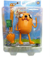 "Adventure Time With Finn & Jake Stretchy Finn Cartoon 5"" NIB Action Figure Toy"