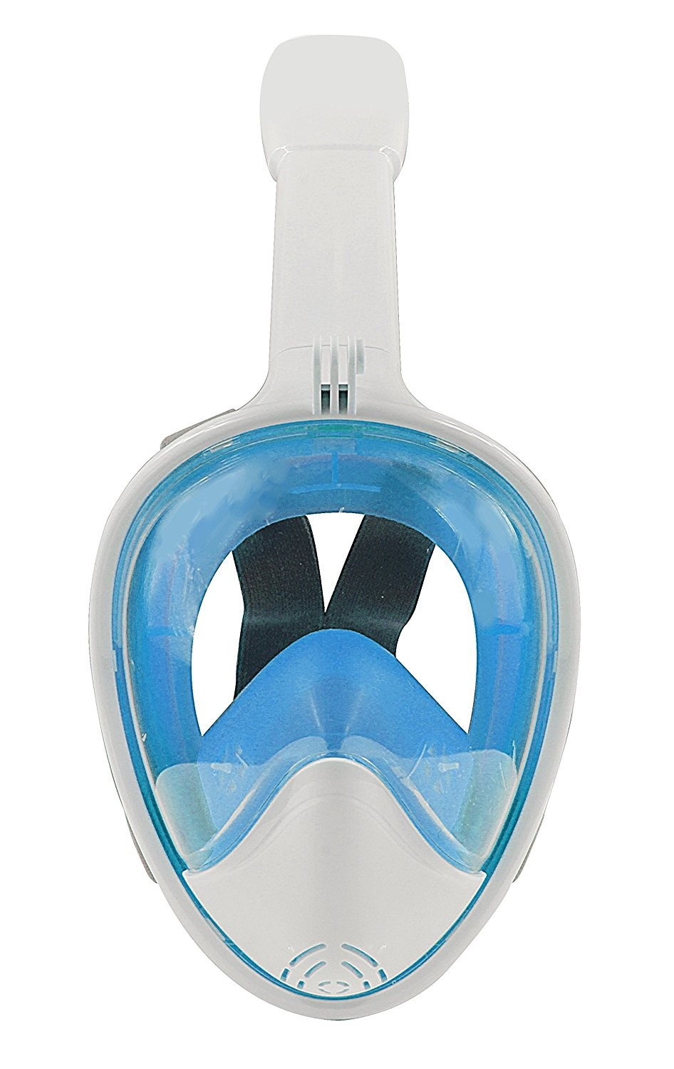 180 Degree Scuba diving equipment full face snorkel mask with gopro mount
