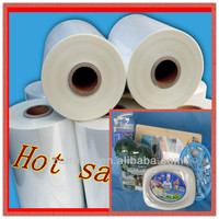 Clear Plastic Film POF Center Folded Film With SGS Approved
