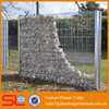 Factory hot sale galvanized or colorful powder coated gabion / gabions cage