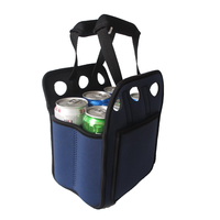 Wholesaler neoprene 6 pack can cooler holder