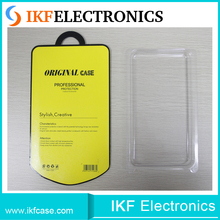 Universal high quality PVC cell phone case blister packaging with blister-hanging-card