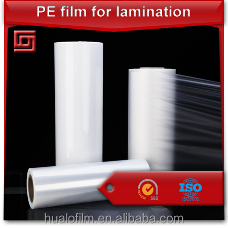 PE Peelable Lidding film for PET/PVC/PC/PS containers