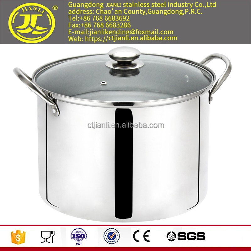 Pasta pot Kitchenware as stainless steel steamer multy funtion saup pan