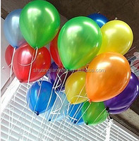 event decoration jewel color round balloons