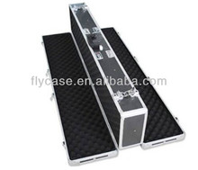 2014 custom design aluminum gun carry case in aluminum storage case with CE approval