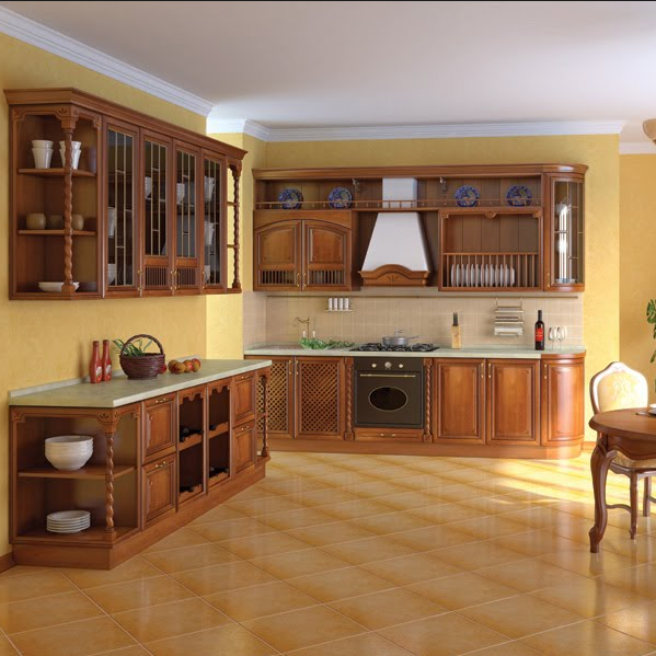 Hot sale and excellent quality prefab kitchen cabinet furniture shenzhen with german kitchen cabinet hardware