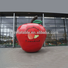 New Customize red inflatable apple model giant inflatable apple for sale