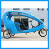 Tour Vehicle Three Wheel Velo Electric Bike with 2 Passengers