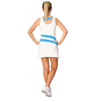StanCaleb OEM Ladies tennis suits/fitness wear/slim style dry fit women tennis suit for sublimation print
