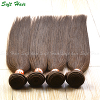 brazilian hair unprocessed virgin straight hair light ash golden brown hair color pictures