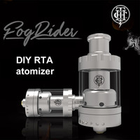 New products 2016 e cigarette Fog Rider DIY coil tank vape atomizer