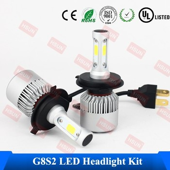 High Quality COB LED Headlight Kit / H4 LED Headlamp / H7 Car LED Headlight