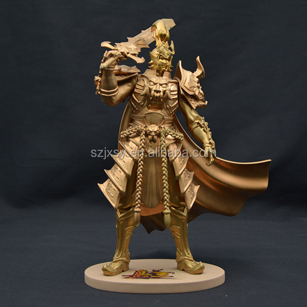 Chinese Custom Garden Warrior Statue Action Figure