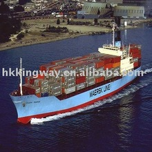 open top container loading(from Qingdao port)