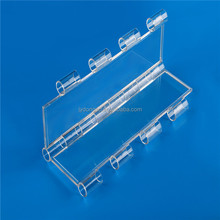 A12.7H2.0 best price anti UV clear PC plastic roller shutter for cabinet door