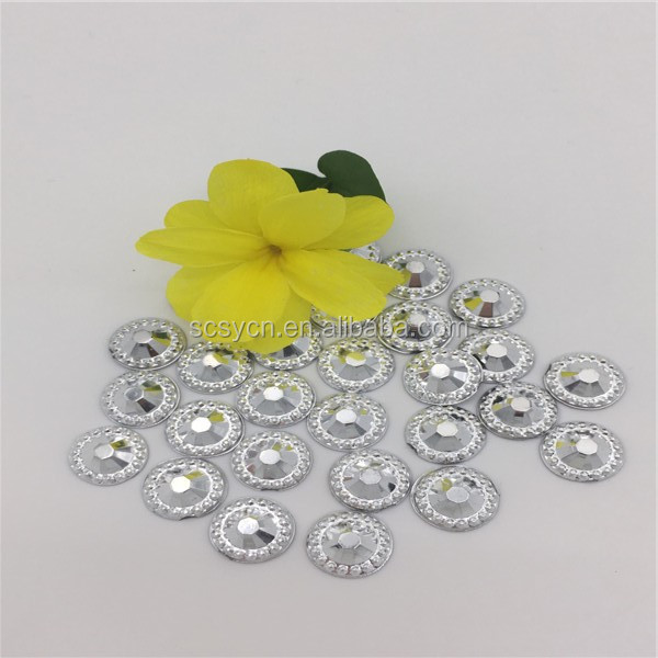 take the dill Wholesale Point Back Acrylic Rhinestones