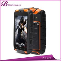 OEM 4inch NFC GPS WIFI GSM 3G IP68 outdoor Waterproof Rugged Smartphone