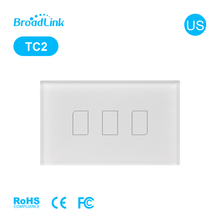 BroadLink TC2 US 110v 240v wifi controlled power switch 220v/1000w wireless remote ip internet hotel room wifi ac power switch