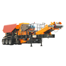 Concrete Mobile Jaw and impact Crusher